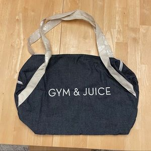 NWT - Private Party Gym & Juice Duffle Bag